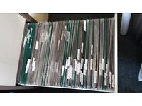 Used office standard foolscap suspension files, more than 200 (up to 240) files
