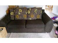 Large Brown Sofa