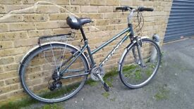 LADIES SARACEN HYBRID CITY BIKE IN VERY GOOD CONDITION well serviced