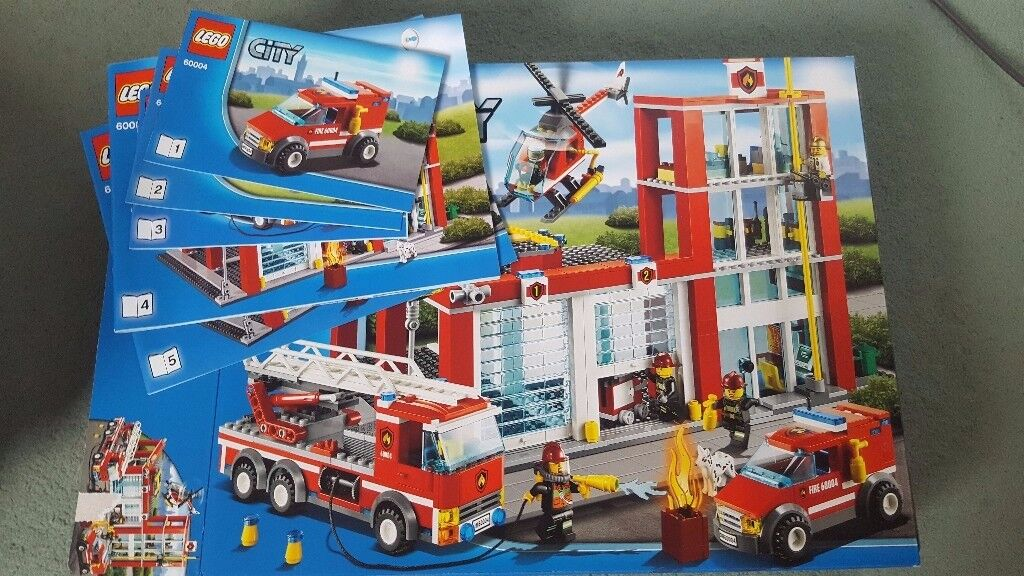 Lego Fire Station 60004 In Leith Edinburgh Gumtree
