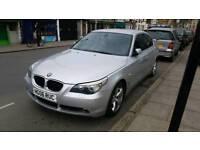 BMW 520D 2.0 DIESEL 2006 06 REG BUILTIN SAT NAV AUTOMATIC DRIVES FLAWLESS URGENT SALE