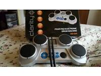 Clarity four pad electronic drum kit