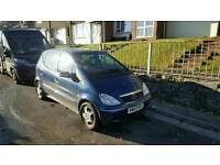 Mercedes A140 low mileage.Automatic