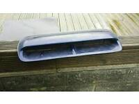 Subaru impreza turbo 2000 bonnet scoop blue wrx