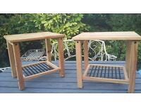 Ikea bedside sold wood tables