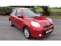 *!*FULL YEARS MOT *!* 2012 Nissan Micra 1.2 Acenta **£30 YEAR TAX**