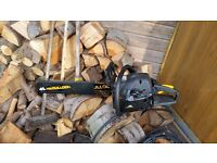Mucculloch chain saw used 3 times still boxed fist to see will buy