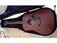 Martin Acoustic sale or trade for Archtop jazz Guitar or Nikon lens