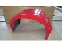 4 no rear mudguards for Mercedes Actros 6 x 2
