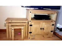 TV Unit & nest of tables
