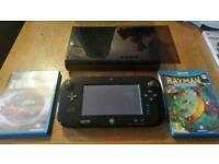 Wii u 32g with 2 games