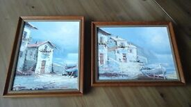 2 x Original Oil Paintings