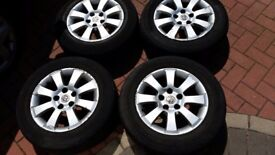 Vauxhall zafira 5 stud 15 inch alloys