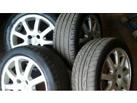 Peugeot 206 cc alloys with 205 45 16 tyres