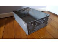 Vintage Metal Boxes