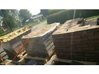 Block paving blocks bricks flags