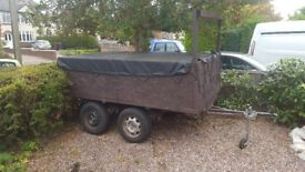 Twin Axel Car Trailer For Sale