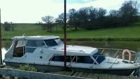 Birchwood 25 river cruiser