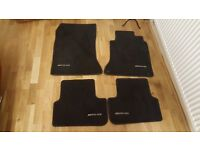 Mercedes benz AMG CLA / A Class / B Class car mats (used)
