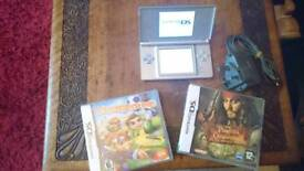 Nintendo ds in silver