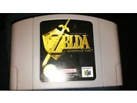 Zelda Ocarina of Time - Nintendo 64 cartridge game