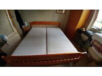 Super King bed and mattresses