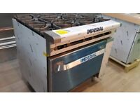 Brand New Unused Commercial Cooker Oven, Gas Fryer, Bain Maire, Gas Griller