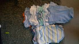 Bundle of baby cloths 3 to 6 months