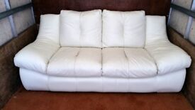 Two seater leather sofa, excelent condition!