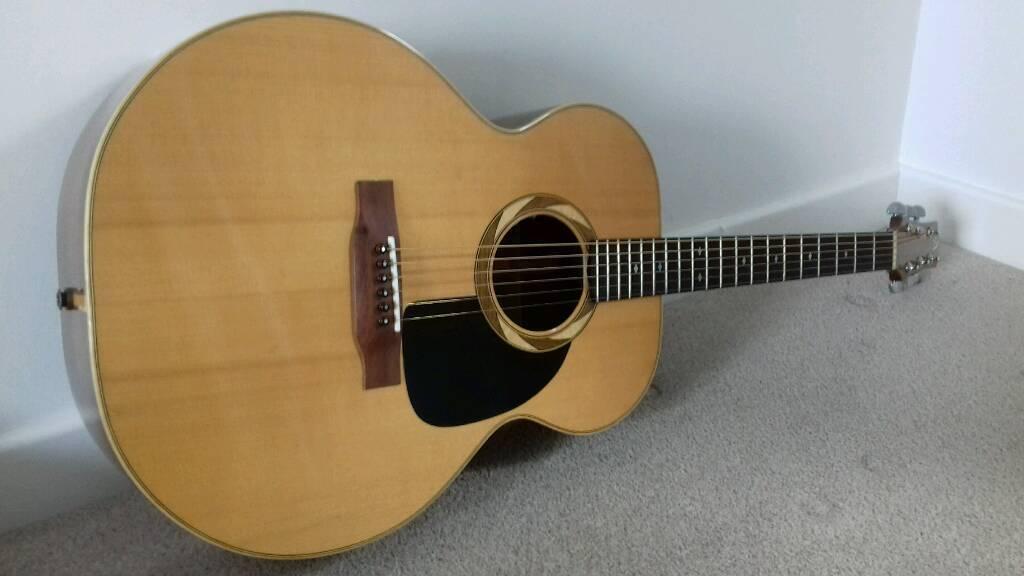 Top Uk Luthier R J Aylward Acoustic Guitar Trade Swap Prs Anderson