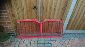 Vw t4 barn door security grilles