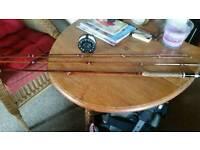 Milward cane vintage 1950 fly rod