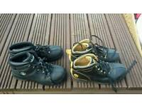 Two pairs of timberland boots size 5 and 5 half excellent condition