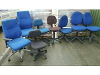 Old office chairs