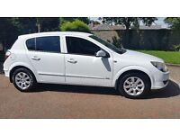 Vauxhall Astra club 1.7CDTI, 2005, white, very reliable and in good condition. Good driving car.