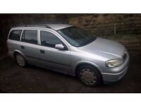 Vauxhall Astra Estate Petrol/LPG-Autogas UNDER OFFER FOR 48 HOURS