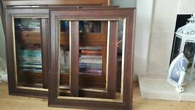 3 antique frames