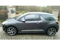 2015 Citroen DS3 1.6 e-HDi Airdream DStyle Plus 3dr Lightly Damaged Repairable