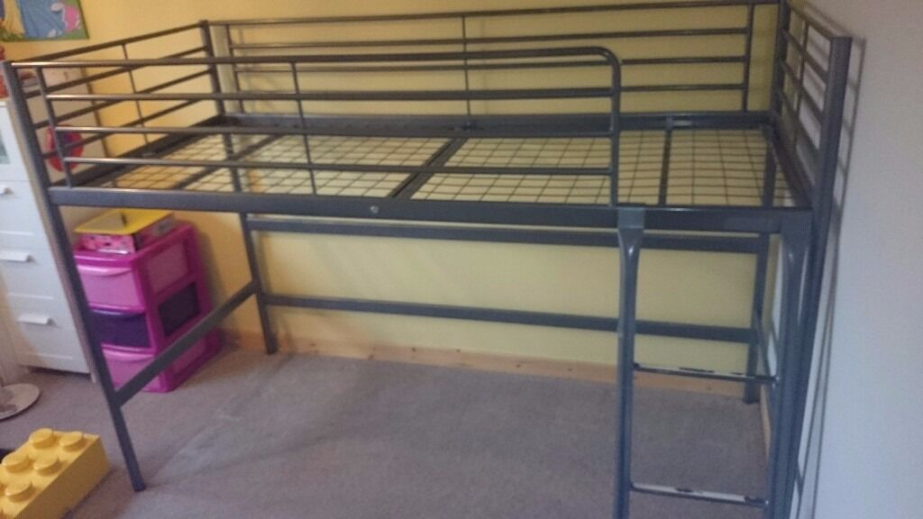 Ikea metal frame cabin bed in kirkcaldy fife gumtree for Steel frame cabin