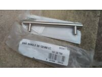 Quality brushed stainless steel kitchen unit door handles