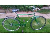 vintage 1974 3 speed puch touring bike or swap for a racing bike