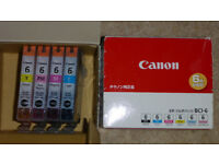 Canon Original BC1-6 Inkjet Cartridges, 10 pcs.
