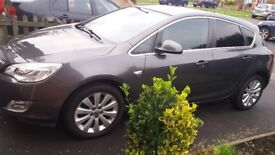Vauxhall Astra elit unrecorded MOT 7.4 18 two previous owners tyres very good condition