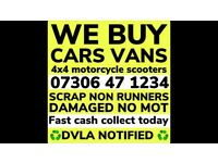 💷 WE BUY ANY CAR VAN FAST CASH SELL MY SCRAP COLLECT TODAY
