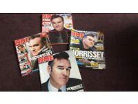 Morrisey magazines x4