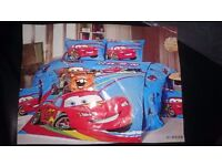 boys character Single/Twin Bed Quilt Cover Set 3Pcs