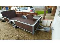 10.5 ft Trailer adapted for motorbike