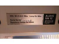 ALDIS SN12 Vintage Slide Projector