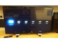 "Philips 49"" 4K UHD Slim LED TV"