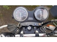 Yamaha YBR 2009 silver 4500 miles... SPARES ONLY ( CAT B WRITE OFF )